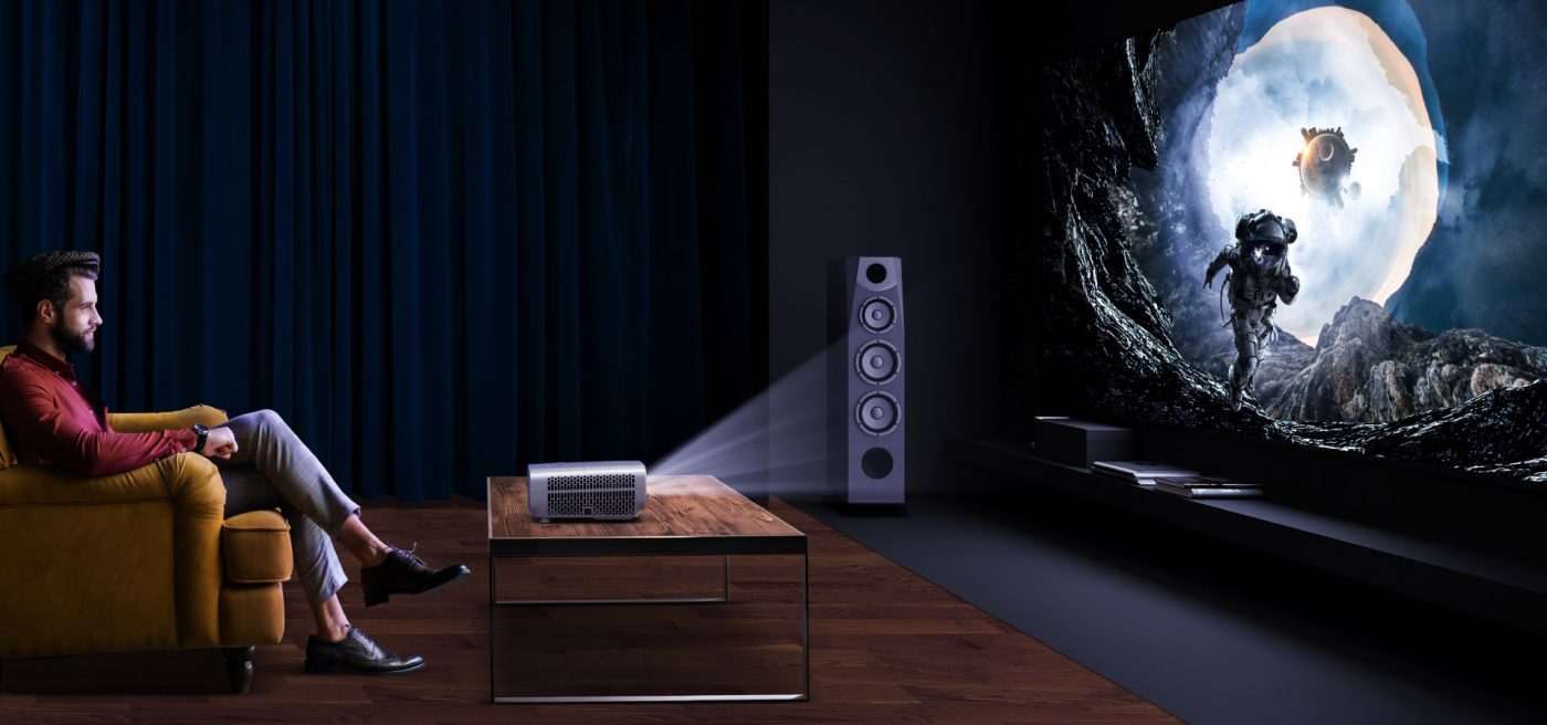 Home Cinema with Short Throw Projector